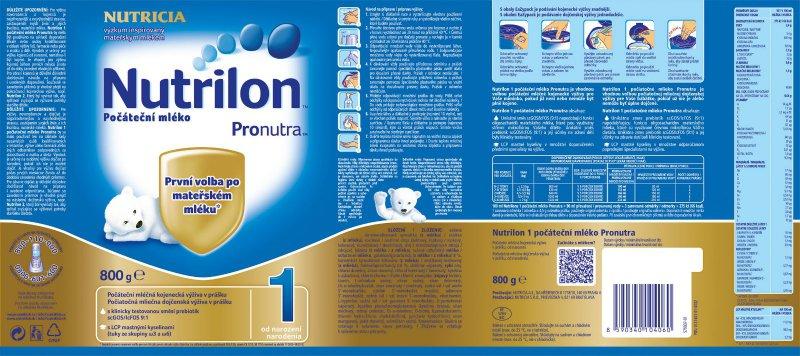 0f91d9c5ed4 Nutrilon 1 kojenecké mléko pro děti od narození