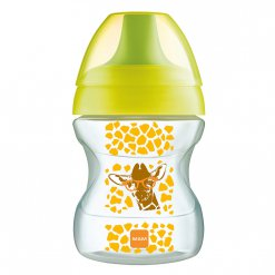 MAM Learn to Drink Cup 190 ml - hrnek na učení 6+m žlutá