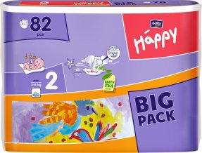 Bella Happy 2 Mini (3-6kg) 82 ks Big Pack